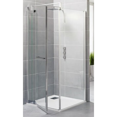 paroi de douche 100 cm gamme exclusive porte fixe kinedo 80 cm. Black Bedroom Furniture Sets. Home Design Ideas
