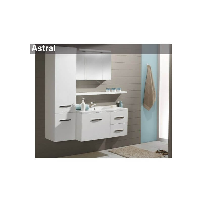 Ensemble meubles astral 80 cm aquarine for Meuble 80 cm