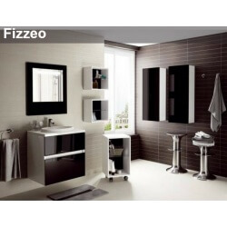 Ensemble meubles FIZZEO 60 cm Aquarine