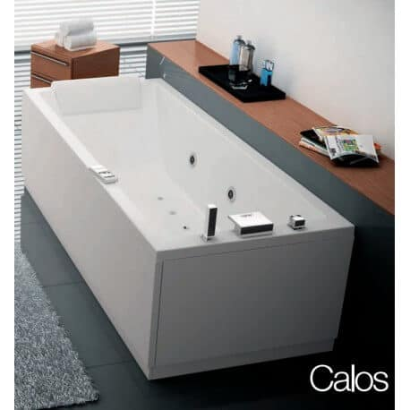 baignoire rectangulaire calos novellini 170 x 80 avec. Black Bedroom Furniture Sets. Home Design Ideas