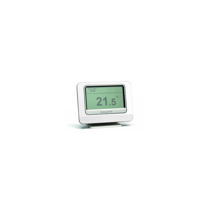Thermostat d 39 ambaince honeywell ecran tactile et sans fil - Thermostat programmable sans fil ...