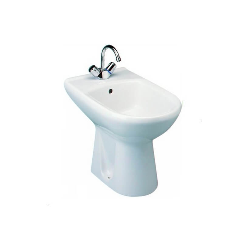 bidet 55 x 35 cm sur pied ulysse ideal standard. Black Bedroom Furniture Sets. Home Design Ideas
