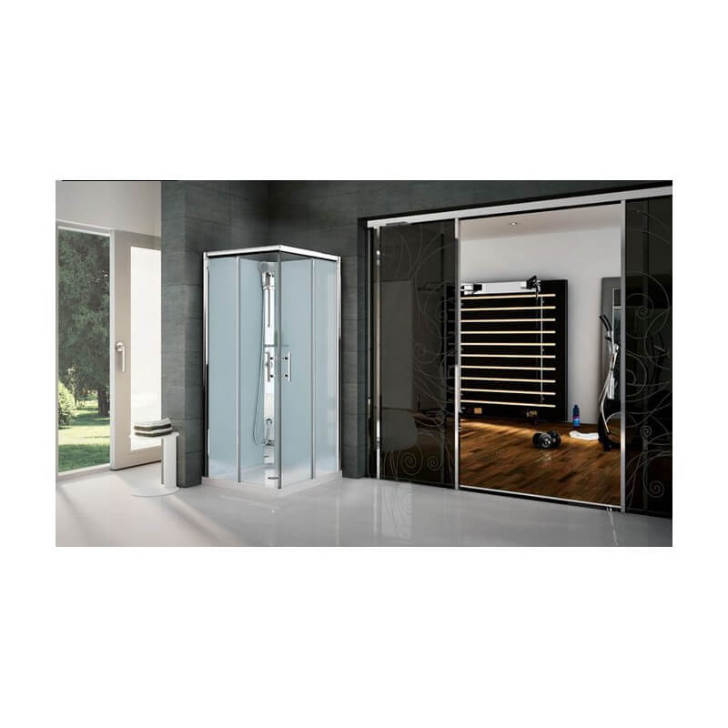 cabine de douche gf80 gf90 version standard. Black Bedroom Furniture Sets. Home Design Ideas