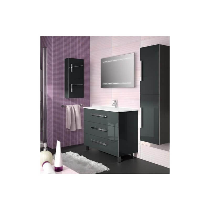 ensemble meuble new rodas gris anthracite 800 salgar. Black Bedroom Furniture Sets. Home Design Ideas