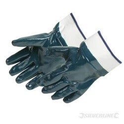 Gants jersey enduction nitrile