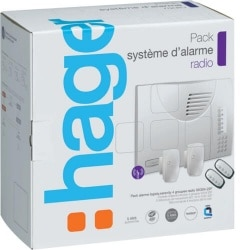 Pack systeme alarme ls radio 4 groupe HAGER SK304-22F