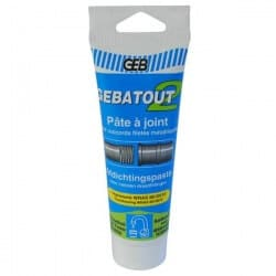 Pâte à joint en tube - Gebatout 2 - 125 ml GEB 103981