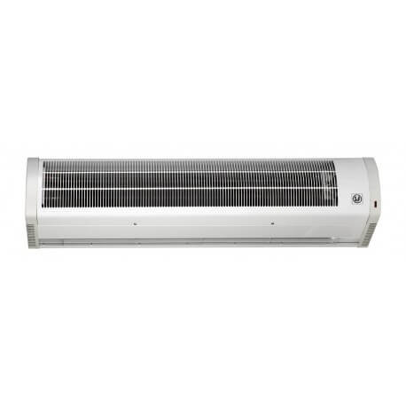 Rideau d 39 air cor n soufflage ambiant chaud unelvent for Rideau air chaud electrique
