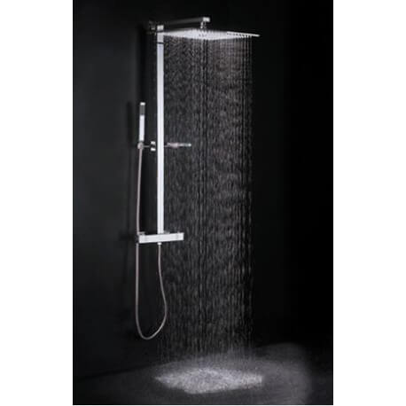 colonne de douche grohe grohtherm 800 mitigeur de douche barre de douche colonne de douche. Black Bedroom Furniture Sets. Home Design Ideas