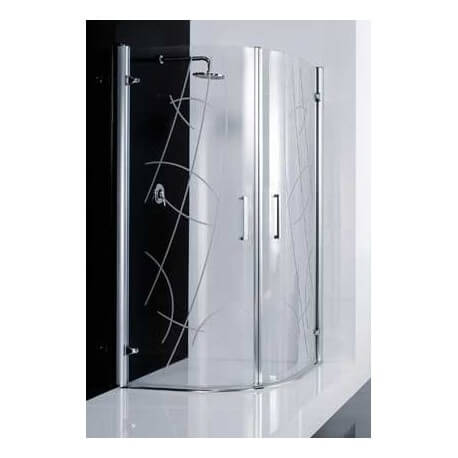 paroi de douche murano r elysium 2 portes pivotantes courbes novellini. Black Bedroom Furniture Sets. Home Design Ideas