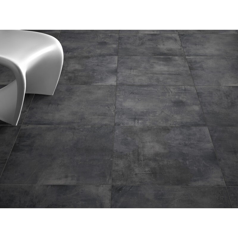 Plinthe carrelage nice anthracite crz64 8x60 for Plinthes carrelage