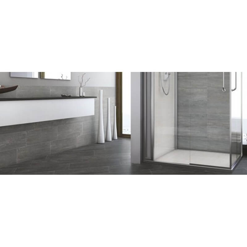 Carrelage rectangulaire spirit grey sintesi 20x60 4 for Carrelage rectangulaire