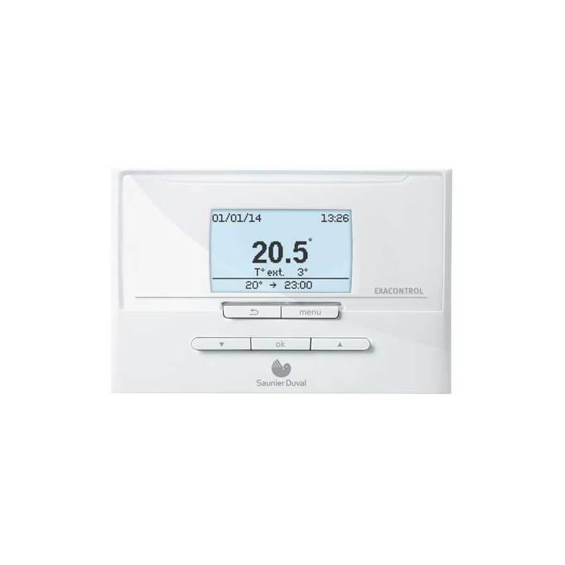 Thermostat d 39 ambiance saunier duval exacontrol e7 c - Thermostat saunier duval ...