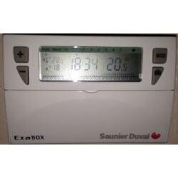 Thermostat d'ambiance Saunier Duval Exabox