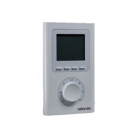 Thermostat d 39 ambiance lectronique programmable atlantic - Thermostat d ambiance programmable filaire ...