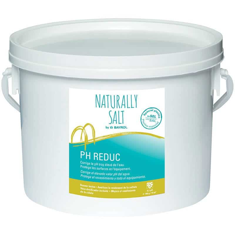 Ph reduc bayrol 5 kg pour piscines au sel for Ph piscine trop bas