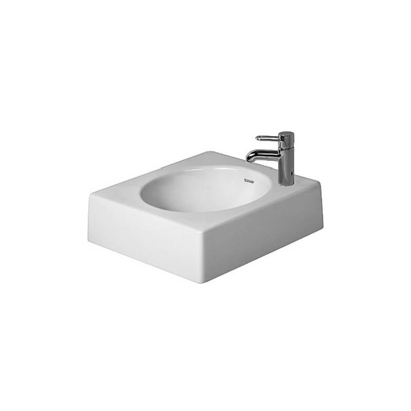 Vasque poser architec 450 mm duravit - Vasque a poser duravit ...