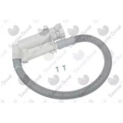Siphon condenstat complet pour THEMA CONDENS F 25