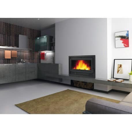 insert bois calideal bronpi loire p 14kw. Black Bedroom Furniture Sets. Home Design Ideas