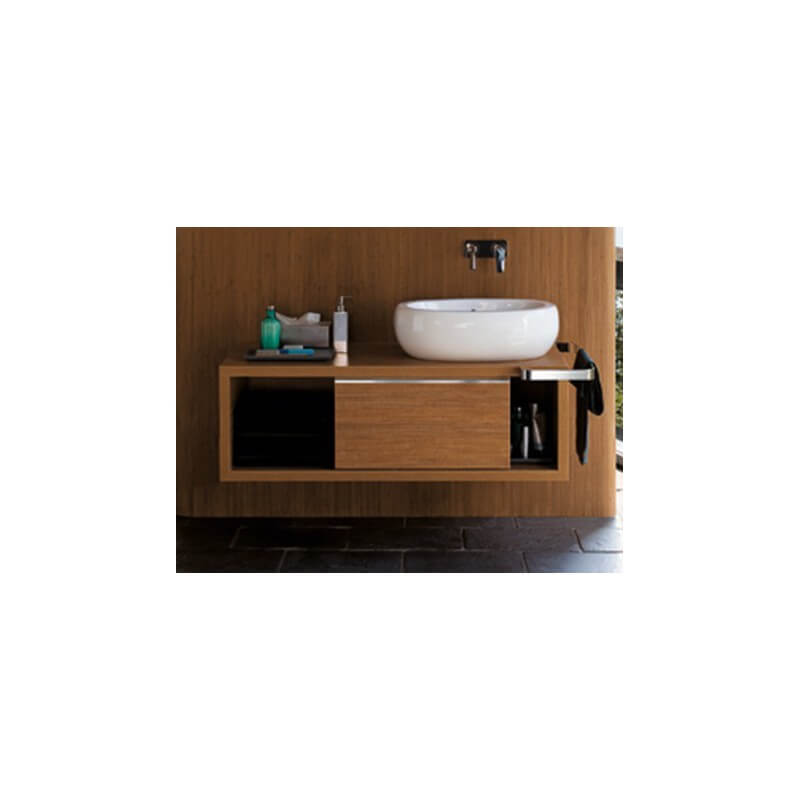 meuble sous vasques de127cm chamade 08371 at tec selles allia. Black Bedroom Furniture Sets. Home Design Ideas