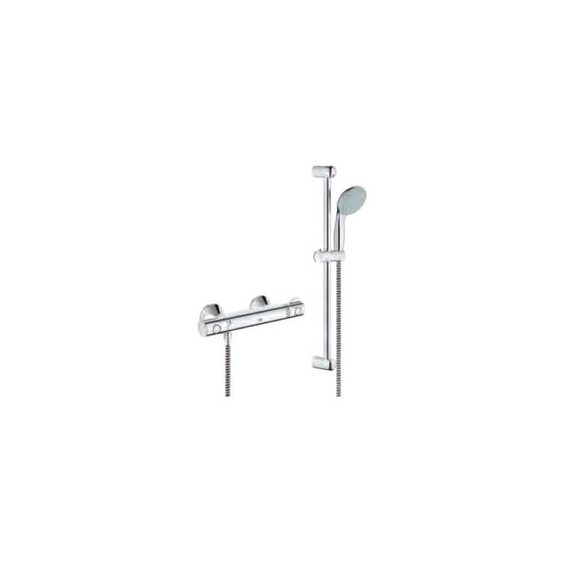 Mitigeur thermostatique douche 1 2 34565000 grohtherm 800 grohe - Thermostatique douche grohe ...