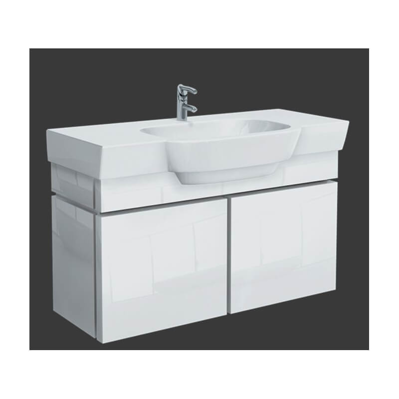 meuble bas jazz 08212 ab lb1 lavabo plan de 100 cm selles allia. Black Bedroom Furniture Sets. Home Design Ideas