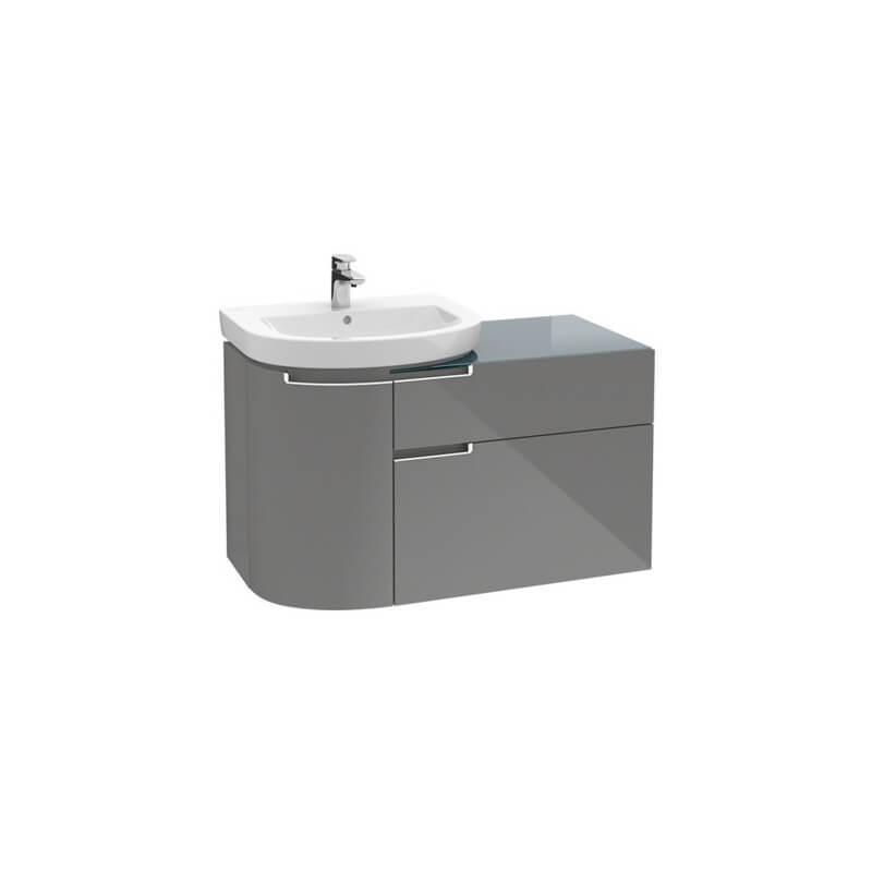 Meuble sous lavabo subway a9200zxx villeroy boch for Meuble subway villeroy et boch