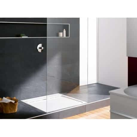 receveur de douche crono 90 gamme burgbad en pierre de synth se seah090. Black Bedroom Furniture Sets. Home Design Ideas
