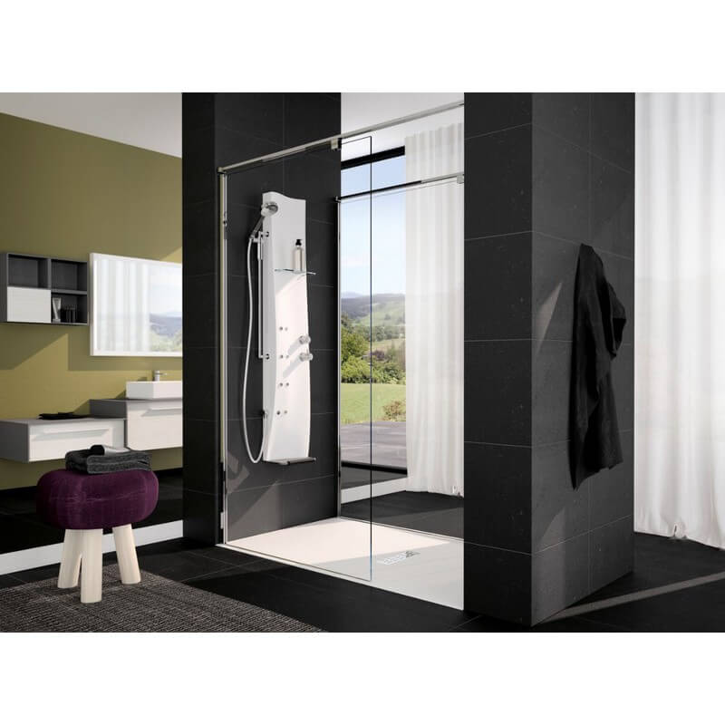 colonne de douche novellini dress quip e montage de face version m canique. Black Bedroom Furniture Sets. Home Design Ideas