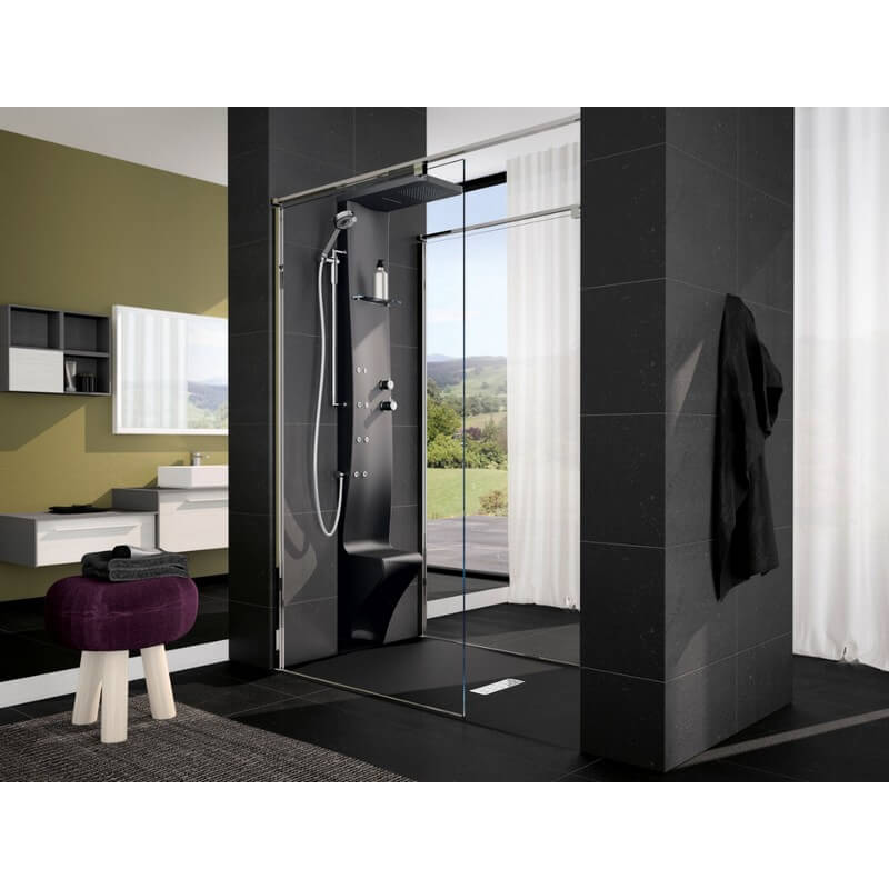 colonne de douche novellini dress plus quip e montage de face version m canique. Black Bedroom Furniture Sets. Home Design Ideas