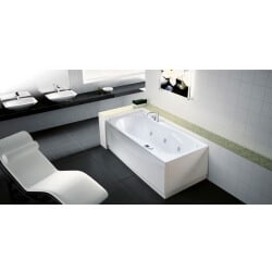 Baignoire Novellini Sinuosa rectangulaire version Hydro SIN518080OF-A