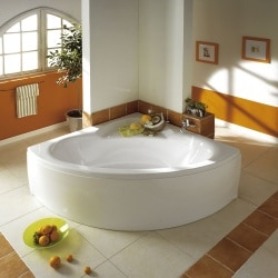 Baignoire COLLECTION angle 140 x 140 cm Aquarine