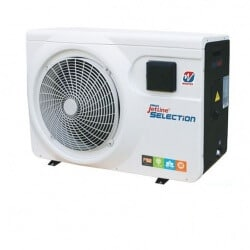 Pompe à chaleur Jetline Selection INVERTER 150 POOLEX 15 kW