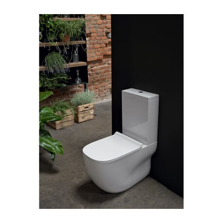 wc monobloc wild avec r servoir et abattant ondyna. Black Bedroom Furniture Sets. Home Design Ideas