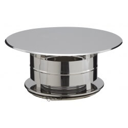 Chapeau aspirateur simple finition Inox CAI31180037 Poujoulat