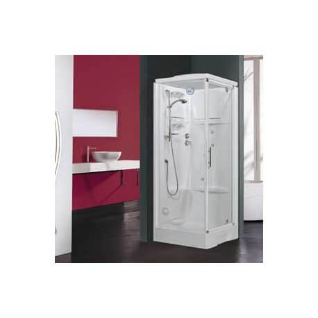 cabine de douche new holiday gf80 avec hydromassage novellini. Black Bedroom Furniture Sets. Home Design Ideas