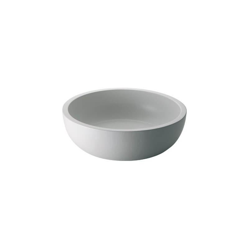 Lavabo ms vasque c ramique blanc mat ondyna for Lavabo ceramique ou porcelaine
