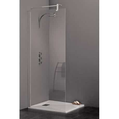 paroi de douche 120 cm gamme kinespace central trio kinedo. Black Bedroom Furniture Sets. Home Design Ideas