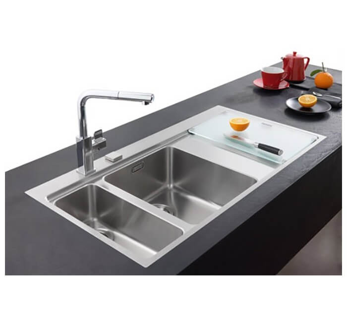 Evier mmx261 mythos inox franke for Petit evier inox