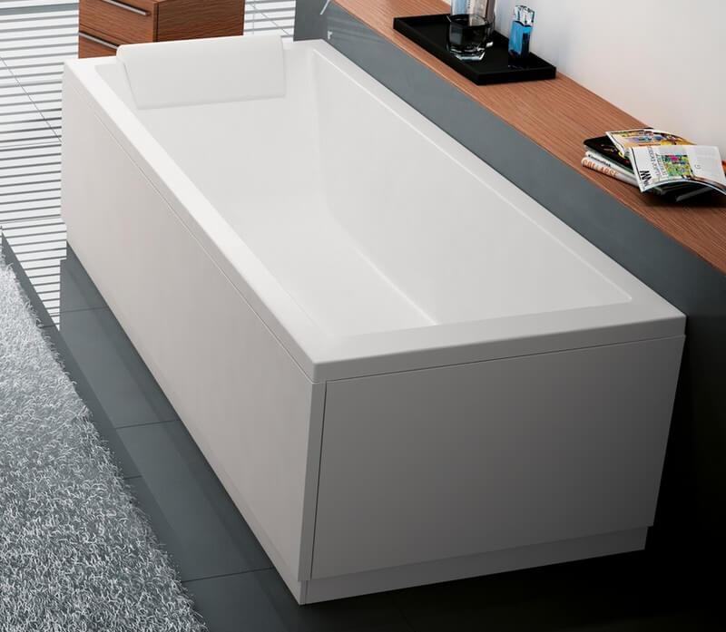 baignoire calos standard rectangulaire acrylique 170x70 novellini encastrer avec pieds salle. Black Bedroom Furniture Sets. Home Design Ideas